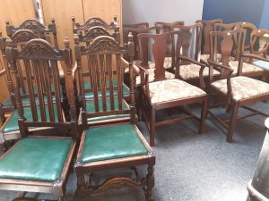 Sale of 500 lots of general household furniture and miscellaneous house clearance effects Thursday 28th October 2021 at 11.00a.m.
